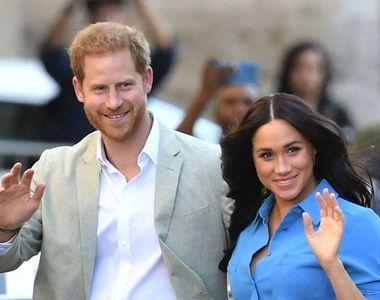 """Palatul Buckingham: Prinţul Harry şi soţia sa Meghan renunţă la titlurile de """"Alteţe..."""
