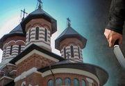 VIDEO   Scene terifiante în fața bisericii. Un actor a încercat să își ucidă soția