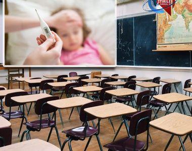 VIDEO | Gripa închide școlile: Cursuri suspendate parţial în nouă şcoli şi grădiniţe...