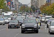 Institutul de Sănătate Publică recomandă întreruperea circulației pe bulevardele poluate din București