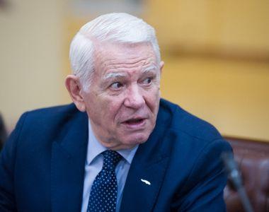 CCR a decis că alegerea lui Teodor Meleşcanu la conducerea Senatului e neconstituţională