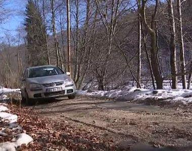 VIDEO   Imagini de pe drumul forestier care ar urma să devină alternativă la DN1
