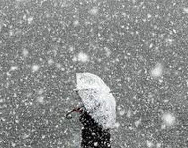 VIDEO | Prognoza meteo: temperaturile scad și vântul se intensifică. Zonele unde va ninge