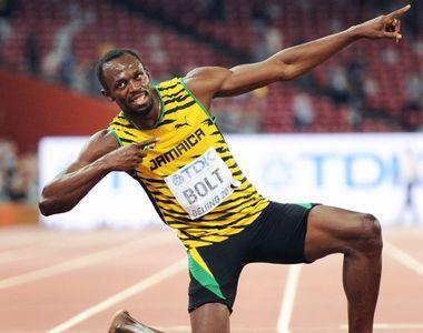 Usain Bolt a anunţat că va deveni tată pentru prima oară