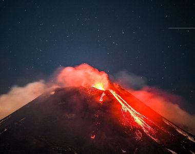 Vulcanul Etna se trezește. Pericol imens pentru Europa