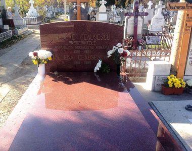 Cum arată astăzi mormântul lui Nicolae Ceaușescu
