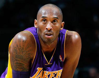 Celebrul jucător de baschet Kobe Bryant a murit într-un accident de elicopter