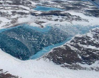 O BOMBĂ cu ceas stă să explodeze sub gheaţa din Antarctica. PERICOL mondial!
