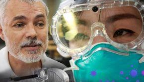 Dr Mihai Craiu: De ce se protejează medicii cu ochelari! Măștile nu sunt suficiente, virusul poate intra și prin ochi! Cum te protejezi eficient