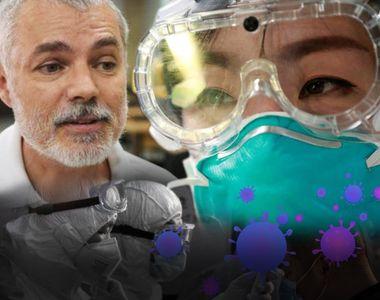 Dr Mihai Craiu: De ce se protejează medicii cu ochelari! Măștile nu sunt suficiente,...