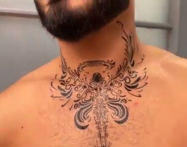 """Jador de la """"Puterea Dragostei"""" s-a tatuat. Cu gândul la cine și-a făcut tatuajul"""