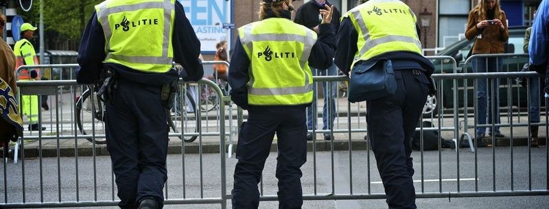 roman arestat in Amsterdam