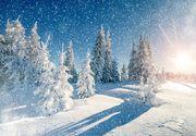 Localitatea din România în care ninge ca în povești! Imagini senzaționale
