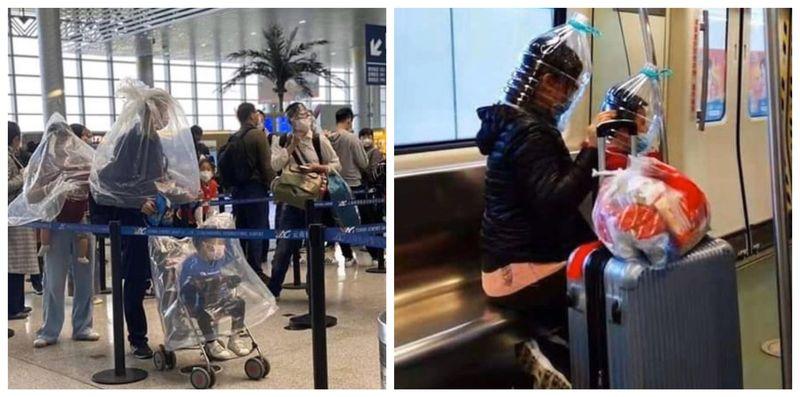 Imagini de ultimă oră din aeroport. Cu ce s-au îmbrăcat oamenii pentru a se apăra de virusul din China?