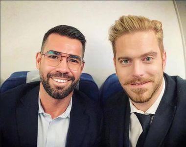 Fondatorii Platformei Social-Liberale, Alex Coita şi Ilan Laufer, fostul ministru al...