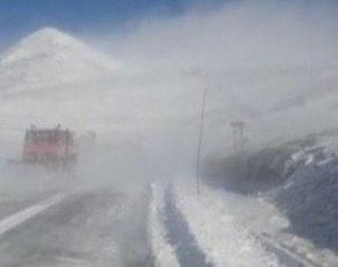 VIDEO | A nins abundent la munte, dar vremea se va schimba radical. Meteorologii vin cu...