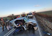 Timiş: Grav accident rutier. Două persoane au murit şi cinci au fost rănite