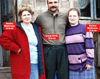 Povestea lui  George Chirilă, bărbatul cu două neveste surori.  Cum face amor cu două...