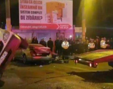 VIDEO | Ambulanță răsturnată la Constanța: 4 răniți. Imagini de la locul accidentului