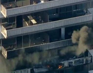 VIDEO | Imagini dramatice din Los Angeles. Mai mulți oameni s-au aruncat de la etaj ca...