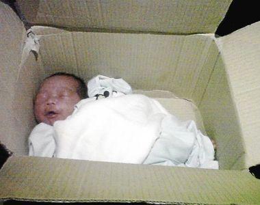 Olt: Bebeluş de trei zile, abandonat într-o cutie de carton într-o casă părăsită. El a...