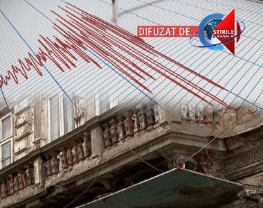VIDEO | Imagini de la cutremurul cu magnitudinea de 5,2 pe scara Richter. Bucureștiul,...
