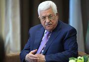 Liderul palestinian suspendă relaţiile cu Israel şi SUA