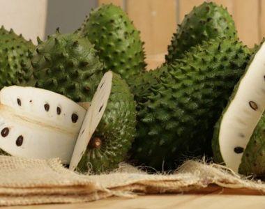 Ce este GRAVIOLA, fructul ciudat care se găsește și în magazinele de la noi.  Ai mânca...