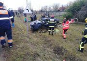 Tragedie în județul Timiș. O femeie a murit, iar alte două persoane au ajuns la spital în urma unui accident