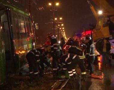 VIDEO | Ucis de tramvai. Imagini de la tragedia din Iași