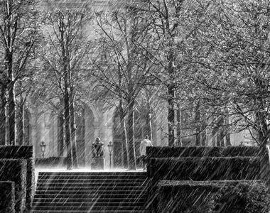 Prognoză meteo. Iarna se instalează în mai multe zone ale țării