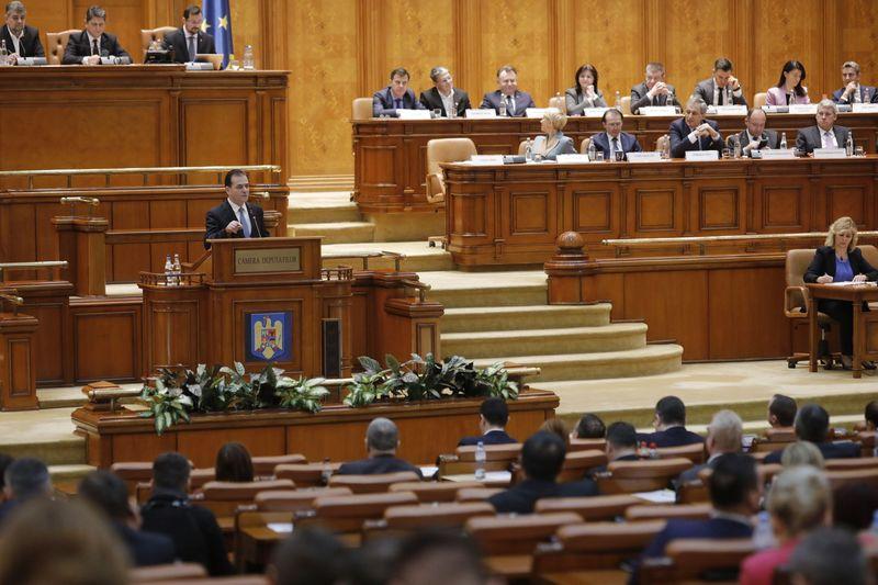 Guvernul Orban a picat