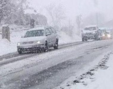 VIDEO | Viscolul pune stăpânire pe România. Multe drumuri naționale au fost deja închise