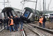 Doi morţi şi aproximativ 30 de răniţi în apropiere de Milano, în urma deraierii unui tren de mare viteză