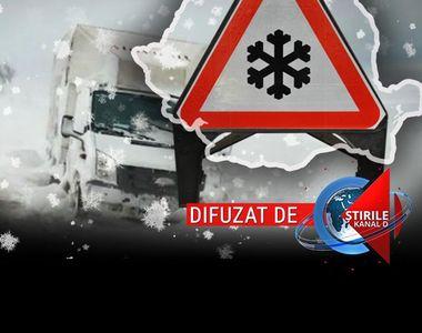 VIDEO | România, devastată după primul episod violent al iernii. A fost prăpăd pe...