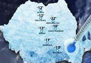 VIDEO   În România, mai frig decât în Siberia. Urmează zile cu ger extrem