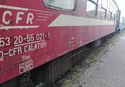 Trafic feroviar blocat între Sibiu şi Braşov după ce locomotiva unui tren de călători a deraiat