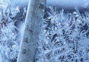 ANM anunță temperaturi scăzute de până la -22 grade în acest final de săptămână