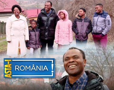 VIDEO | O familie de africani, integrata perfect in satul Chinari, de mai bine de 13 ani