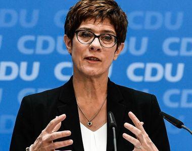 Criză în CDU: Succesoarea lui Merkel nu va candida pentru postul de cancelar