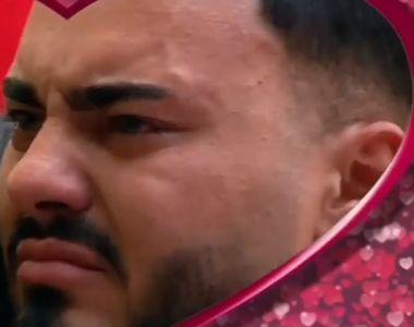 """Jador de la """"Puterea Dragostei"""" în lacrimi. Concurentul nu-și mai poate ascunde..."""