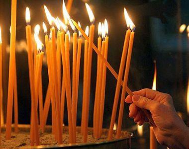 Este sărbătoare astăzi în calendarul ortodox! Ce sfânt este pomenit?