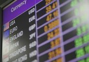 Curs valutar 12 februarie. Euro scade spre 4,76 lei