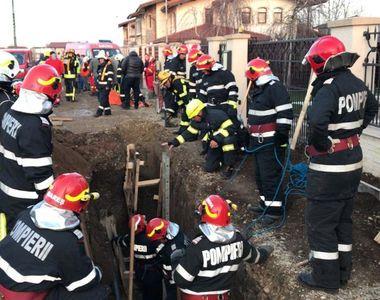 Ilfov: Un muncitor care lucra la organizarea unui şantier a murit după ce a fost prins...