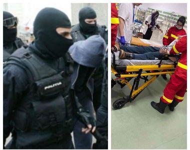 Poveste șocantă la Brașov. Mascații au greșit adresa și au băgat doi copii în spital