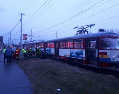 Accident teribil în Arad: o femeie a murit după ce a fost călcată de tramvai