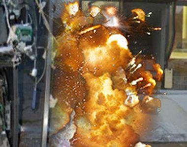 VIDEO | Explozii în serie la bancomate. Cum acționează autorii jafurilor