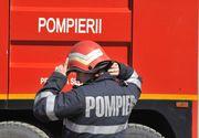 Incendiu puternic în Mureş. 13 persoane au ajuns la spital