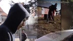 VIDEO | Teroristul care și-a bătut cu biciul iubita gravidă a fost arestat