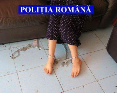 Caz șocant în Timiș: autoritățile au descoperit o femeie care era ținută în lanțuri de...